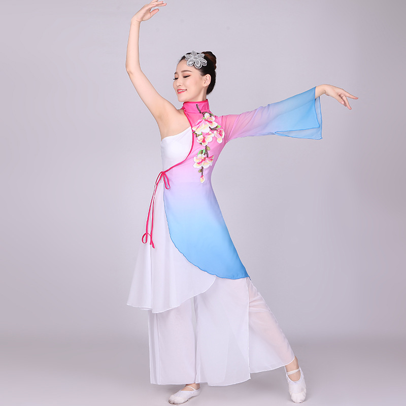 Folk costumes, Folk costumes direct from Wuhan Miss Yuan