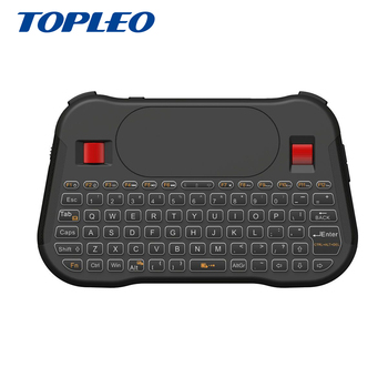 Shenzhen Topleo T18+ 2.4Ghz Mini Wireless rgb backlit Mouse Wheel keyboard for Android, Window, Mac and Linux OS