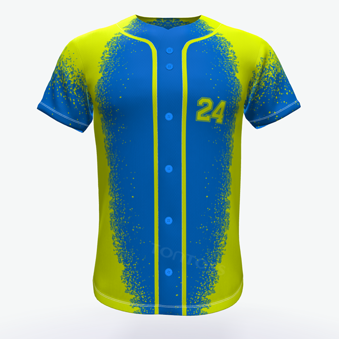 Ontwerp uw eigen club custom honkbal softbal uniformen, softbal jersey