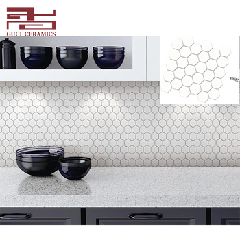 Charmant China Supply White Hexagonal Ceramic Tile Kitchen Mosaic Tiles   Buy Mosaic  Tile,Ceramic Mosaic Tiles,Ceramic Mosaic Tiles Product On Alibaba.com