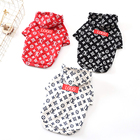 2019 Amazon Hot Factory Price Direct Pet Accessories S X L Size Cotton Dog Clothes Ropa Para Perros