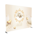 10 feet Retail Tension Fabric Trade Show Wedding Stage Backdrop Stand
