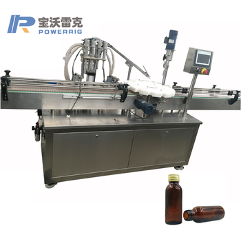 Best price small glass bottle oral liquid filling capping machine vial filling capping machine