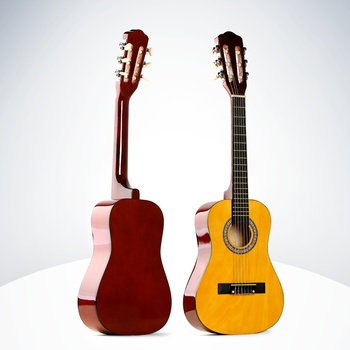 Wholesale China factory 1/4 size 30inch linden nylon OEM classical guitar China manufacturer