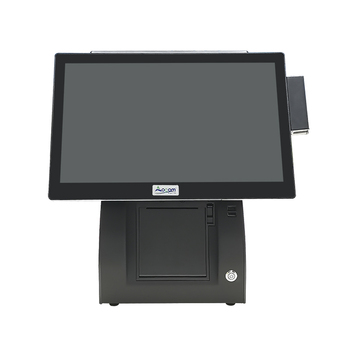 POS-E15  windows/android dualtouch screen pos system for restaurant