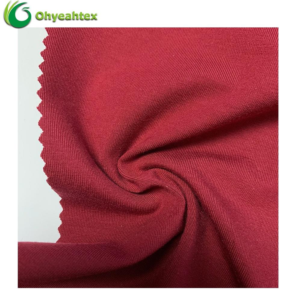ECO-Friendly Single Jersey Cotton Modal Elastane Fabrics For underwear