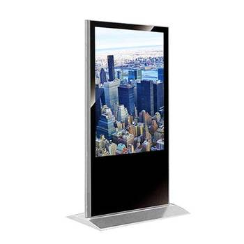 Double Sided 49 Inch IR Touch Screen Digital Signage Display Hardware