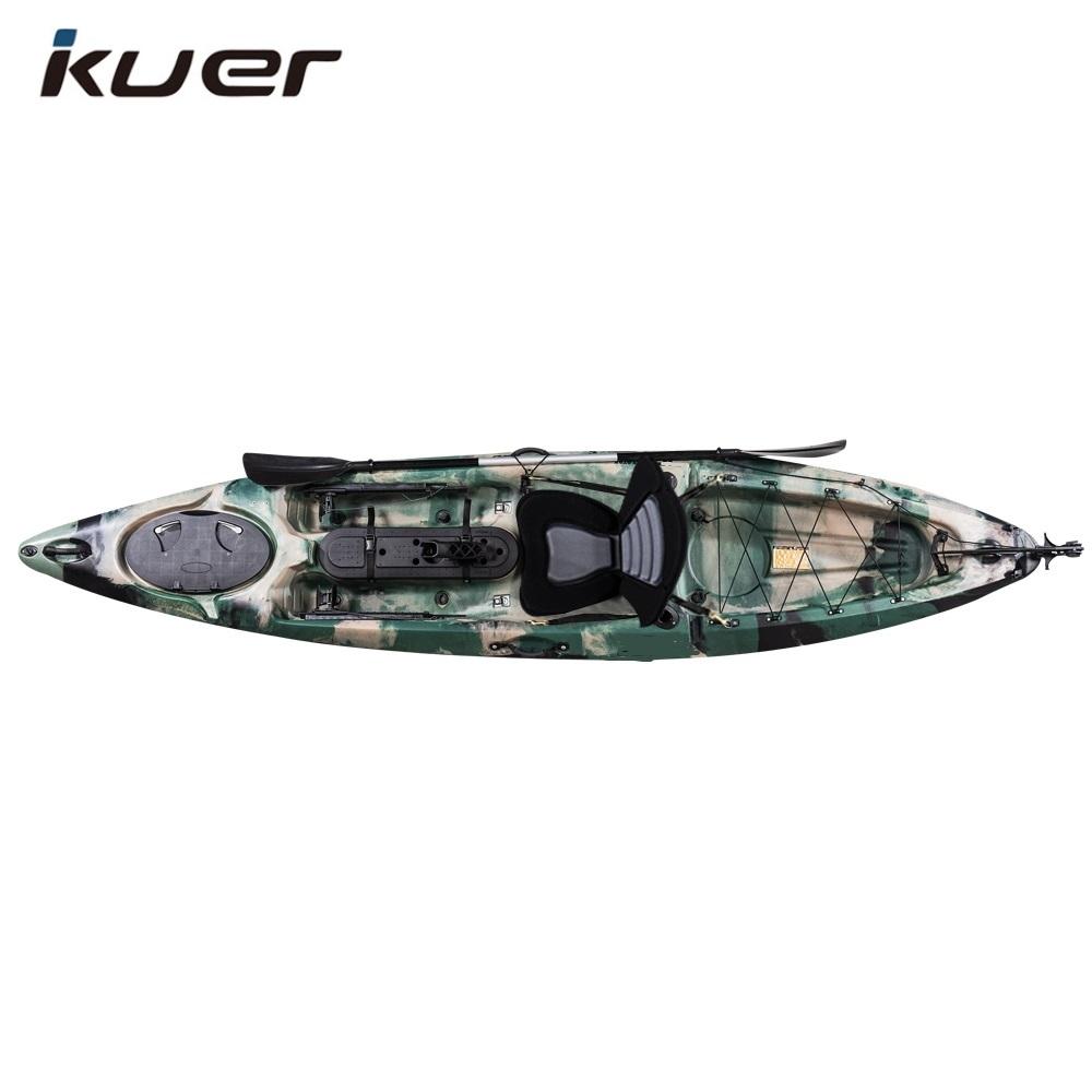 4.23 m dace pro angler 14ft profesyonel balıkçılık kayık çin'de yapılan ucuz plastik kano toptan LLDPE HDPE
