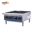 Stainless Steel Commercial 4 Burner Gas Cooking Range