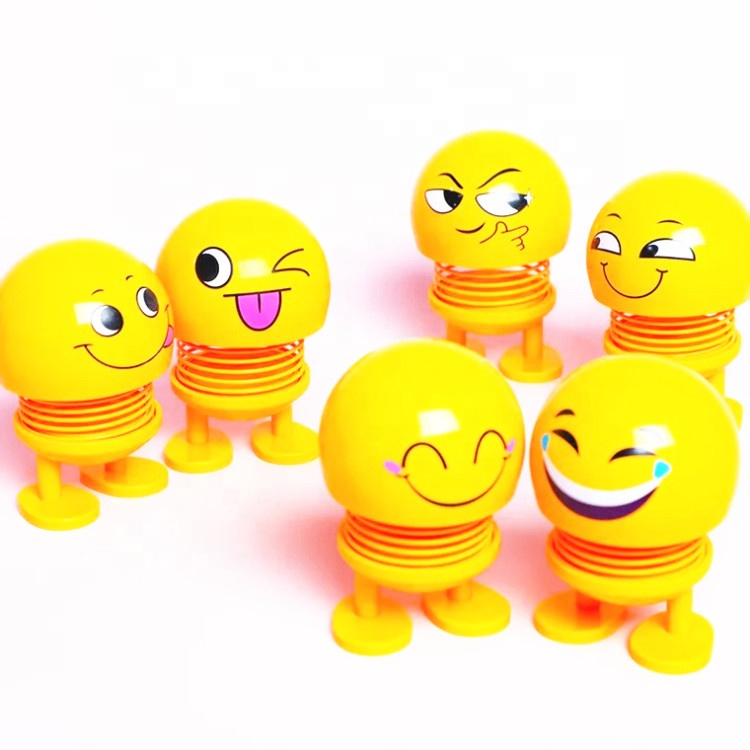 Wholesale New Arrival hot sell Smiling face spring <strong>doll</strong> for Spring Head <strong>Doll</strong>