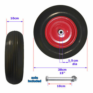 PU foam rubber wheel