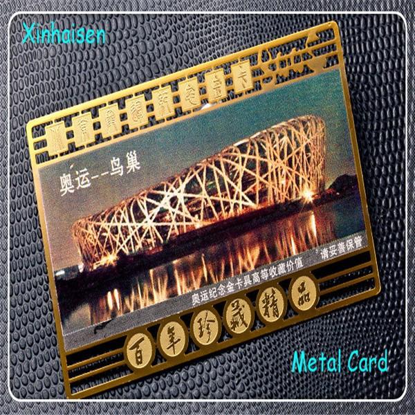 Hot Selling Gold Design Laser Cut Metal Business Card Holder Metal ...