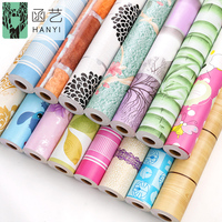 Factory price pvc waterproof wallpaper sticker , 3d vinyl home wallpaper designs