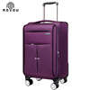 High Quality Light Material Trolley Factory Cheap nylon Luggage Set