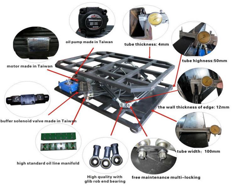 2 3 6 Dof Motion Simulator Platform For Flight Simulator
