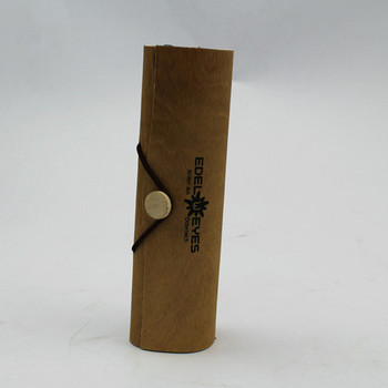Processing Natural Birch Bark Gift Box Single Stick Round Grape Gift Cork Box