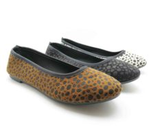 Leopard Pumps Styles Ladies Flat Suede Shoes Cheapest Factory Price!!!