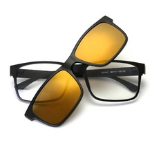 (Eiffel tower) 자기 Polarized Black 코 Clip-on 선글라스 <span class=keywords><strong>플라스틱</strong></span> TR90 2019