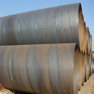 SSAW Steel Tube /Welded Corrugated Spiral Steel Culvert Pipe