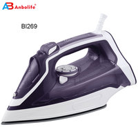 Hot selling 3000w portable auto off electrical cheap handy Dry/steam/spray/burst /vertical and self clean steam iron cordless