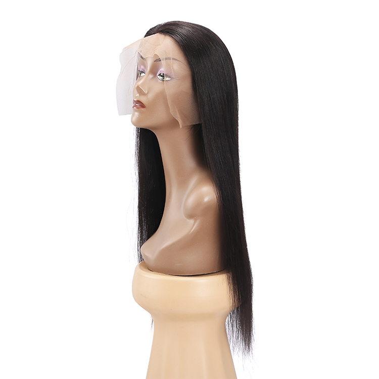 Good Feedback Silicone Lace Front Wigs 100% Brazilian Straight Virgin Human Hair Wigs