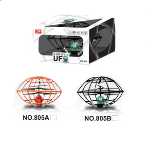 New flashing light toys for kids 3.5channel infrared control rc flying toys ufo GW-TMJ805