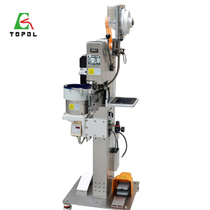 High Efficiency Automatic Prong Snap Button Riveting Machine/Plastic Snap Fasteners Machine For clothing