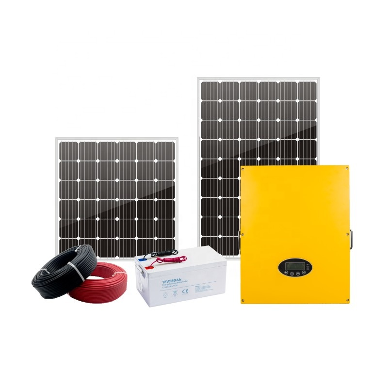 Factory direct supply 10kw 20kw solar system price pv solar panel package