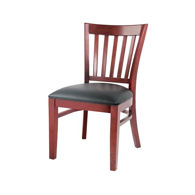 Cocina Moderna francés louis barato de comedor de madera tapizado de cuero  de lujo silla-Sillas de madera-Identificación del ...