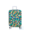 Custom travel colorful suitcase protector elastic spandex luggage cover