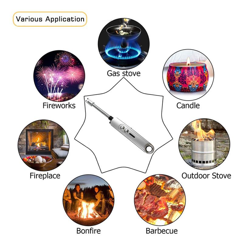 Electric usb plasma arc lighter for bbq lighters