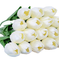 2019 HOT artificial flowers for decoration cheap wholesale flowers artificial real touch tulip