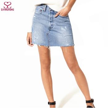 newest 928c0 88f11 Löcher - Casual Pocket Design - Low Taille - Bleach - Jeansrock Mit Jeans  Mini-jeansrock - Buy Denim Jeans Stoff Röcke,Sexy Denim Mini Röcke,Mini  Sexy ...