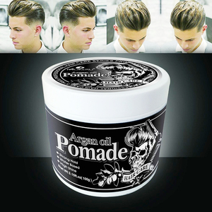 Free Shipping Wholesale Strong Hold Hair Gel Wax For Men Long lasting Hair Balsam Oil Wax For Hair Styling Edge Control