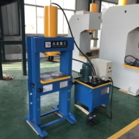 Small hydraulic bending press machine