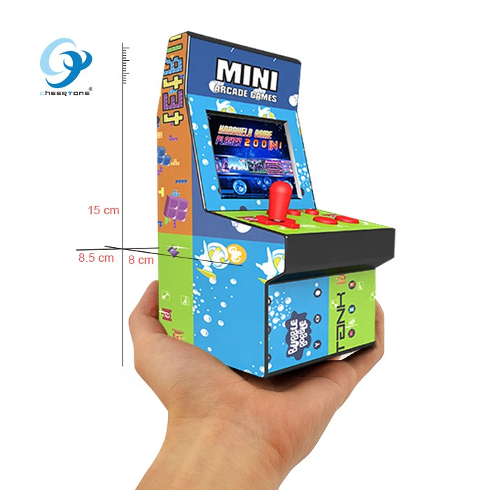2019 goede reputatie 8 bit bartop mini arcade game machine CT882B