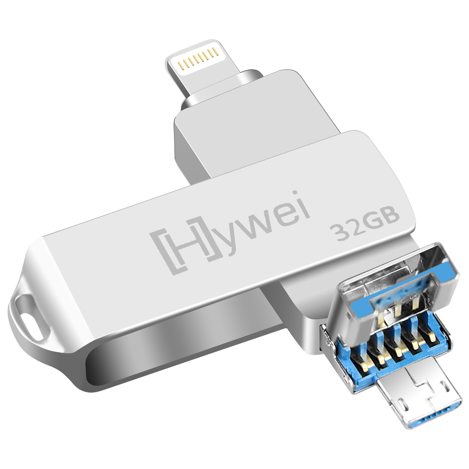 Swivel <strong>OTG</strong> <strong>USB</strong> <strong>flash</strong> <strong>drive</strong> 3 in 1 <strong>USB</strong> stick 16GB 32GB 64GB 3.0 <strong>OTG</strong> <strong>flash</strong> <strong>drive</strong> <strong>usb</strong> 3.0 for iphone Android PC without logo