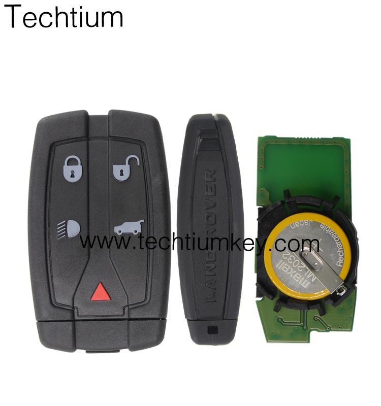 Hohe qualität Aftermarket remote key 433 Mhz Land rover FREELAND, Discovery4, Range Rover karte Smart Key