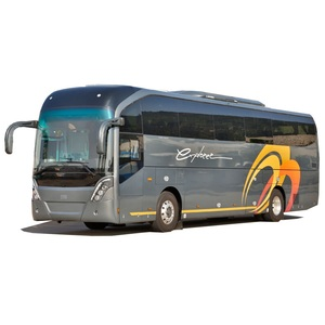 12m 49 seats new long distance diesel coach bus with toilet for sale