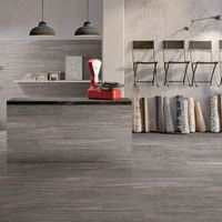 3d Digital Printing Wood Plank Look Porcelain Tile 6x36 Grey,timber Ash Wooden Look Ceramic Floor Tiles Gray Color