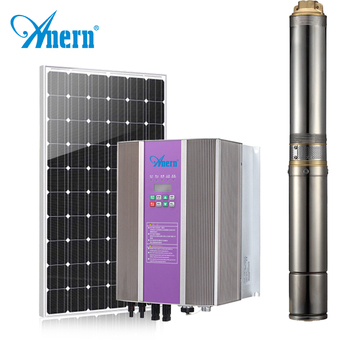 100m 200m 300m energy solar powered water pump with inverter