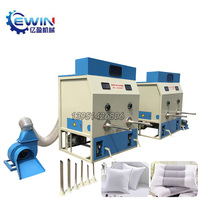 Automatic Goose Down /Micro Fiber Opening Pillow Filling Machine