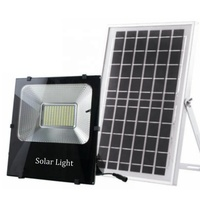 Wakatek smd security emergency lamp lighting led motion sensor solar garden 50Watts solar flood light