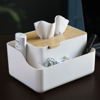 Creative face tissue box for car cup holder