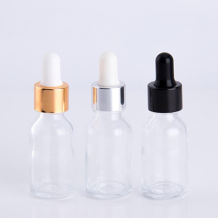 20 ミリリットルエッセンシャルオイルガラススポイトボトル化粧品包装