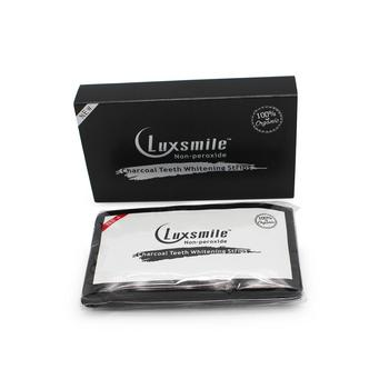 CE & FDA Approved Private Label 14 sachets/ box Activated Charcoal 3D Teeth Whitening Strips