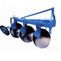 2 disc rotary plough for 25hp walking tractor agricultural farm plough machine equipment