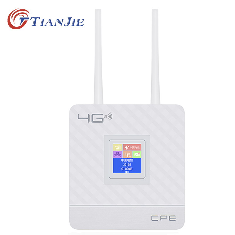 TIANJIE 4g wifi wireless router home and garden unlocked portable global <strong>sim</strong> card 4g modem lte CPE router wireless CPE903