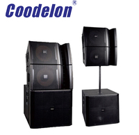 Hot sale VRX series high quality professional audio line array 3CH subwoofer active speakers