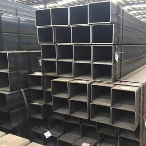 Tianjin manufacturer hollow metal Galvanized square rectangular steel tube/pipe/square hollow steel pipe price